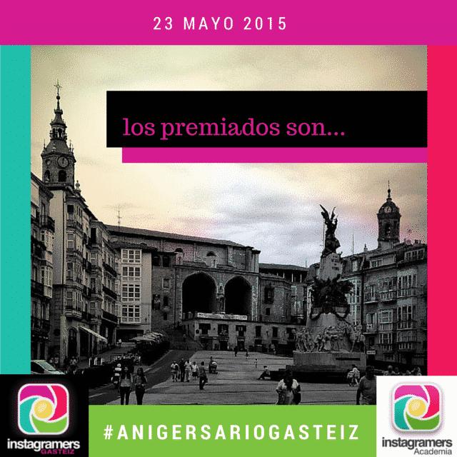 Los Premiados del II #AnIgersarioGasteiz