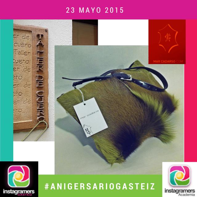 Mar Cadarso; cuero, diseño y moda en el II #AnIgersarioGasteiz