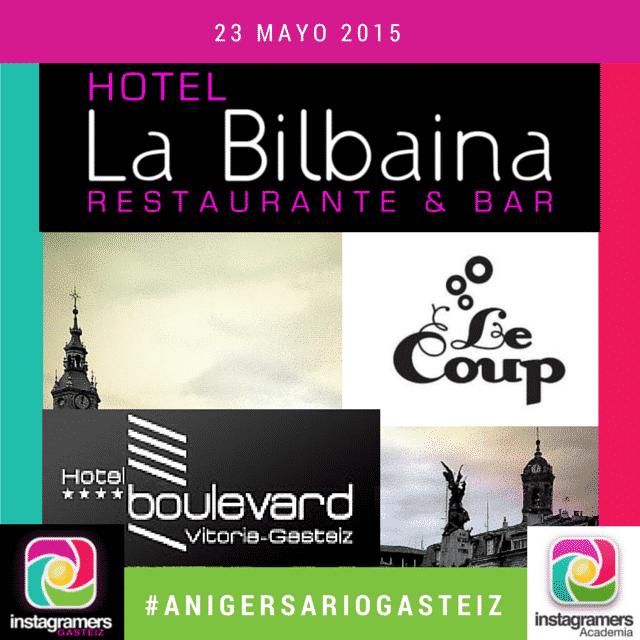 Restaurante la bilbaina hotel boulevard pub le coup los locales del ii anigersariogasteiz4
