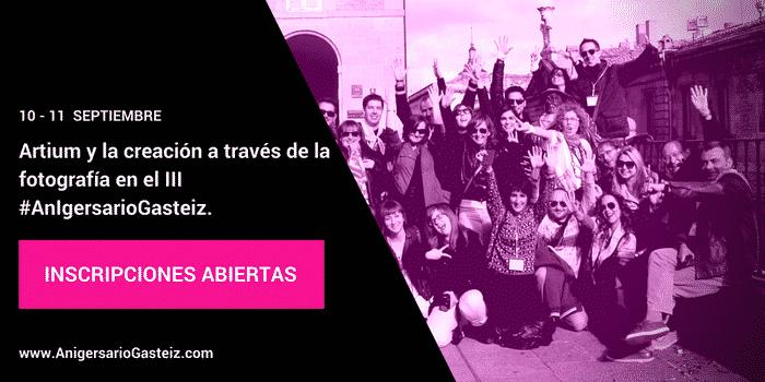Artium y la creación a través de la fotografía en el III #AnIgersarioGasteiz.
