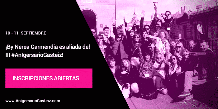 ¡By Nerea Garmendia es aliada del III #AnIgersarioGasteiz!