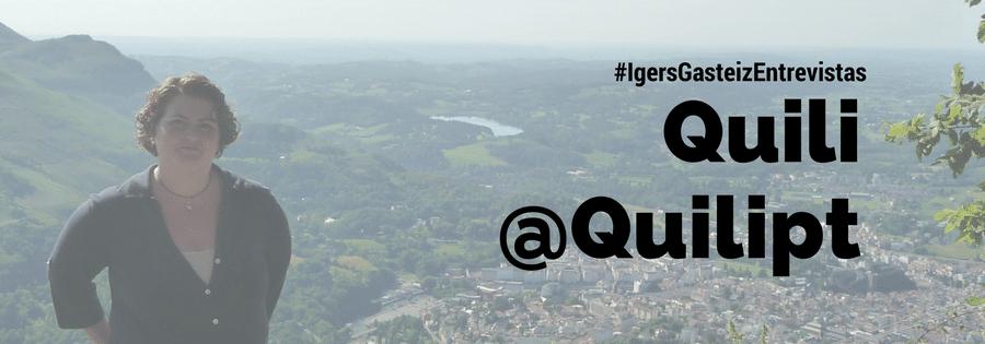 #IgersGasteizEntrevistas a Quili (@Quilipt)